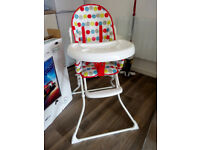 High Chair. Bought on May 2017