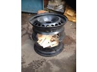 Wheel firepit