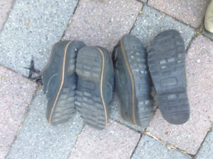 Two pairs of hardly worn Simple shoes lace ups