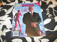 RARE WWF / WWE WRESTLING SPOTLIGHT MAGAZINE VOLUME NO 119 MR PERFECT