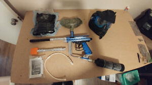Orion Paintball Marker and Accessories