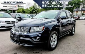2016 Jeep Compass NORTH ALL SEASON 4X4, AUTO, BLUETOOTH, REM STA