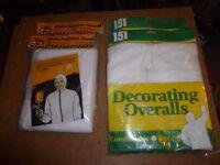 Decorating Overalls - Brand New - 4 Pair