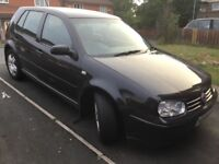 VW GOLF 1.9TDi BLACK 115BHP 5DR MANUAL
