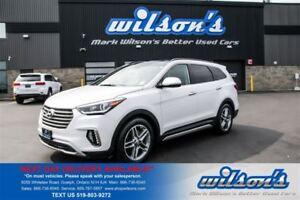 2017 Hyundai Santa Fe XL XL LIMITED AWD! LEATHER! NAVIGATION! $1