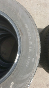 195 65 15 continental tires 150$ for four firm firm firm