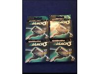 4. Boxes. Gillette Mach 3 blades. £20