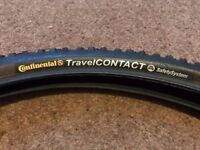 Pair Unused Continental Travel Contact Tyre 26 x 1.75