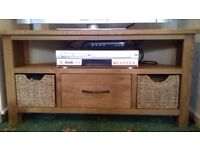 Sidmouth Oak Corner TV Unit