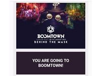Boomtown tickets x2 and campervan pass
