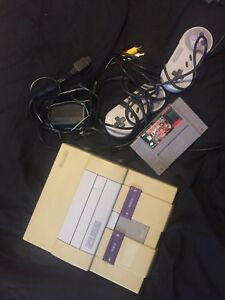 Refurbished Super Nintendo everything included