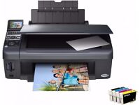 Nearly new Epson DX8400 & new cartridges
