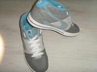 Duffs mens high top trainers