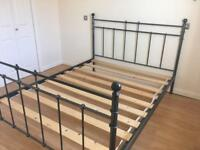 *SOLD* Metal Double Bed Frame