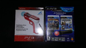 PS3 Move Bundle and Shooting Attachment