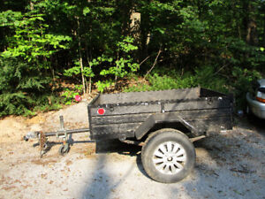 Utility Trailer 4x6  with 16 inch tires