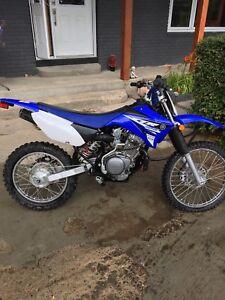 Yamaha TTR 125 CC dirt bike