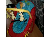 Unisex baby bouncer chair fantastic condition