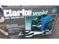 Clarke welding machines