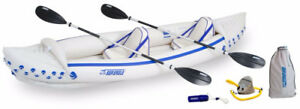 Sea Eagle 370 Pro Inflatable Kayak ONLY 1 LEFT Great Price!