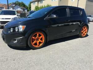 2012 Chevrolet Sonic LTZ| Turbo | Manual |