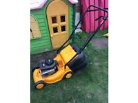 McCullough petrol mower.