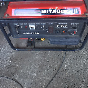 Mitsubishi generator for sale
