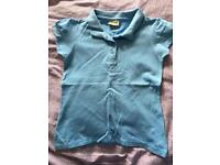 6 light blue polo shirts NEXT age 8yrs