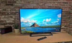Slim Sony BRAVIA  48 inch 1080p 120 Hz LED Smart TV,.