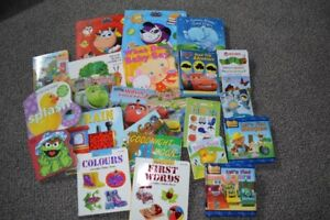 Over 50 Baby, Toddler, kids books