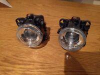 New HELLA 90mm Main & 70mm Dipped Beam Kit Classic Car Headlights Set