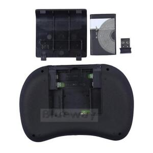 Mini combiné portable clavier/souris/touchpad illuminé