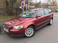 2004/04 Volvo V50 2.4 I S Geartronic Low Millage 51K Full Volvo Service History 1 Owner From New Mot