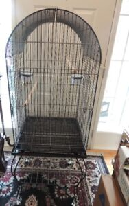 NEW LARGE BIRD CAGE ON STAND WITH CASTERS