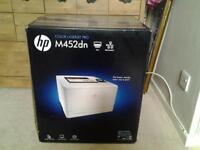 HP colour laser jet pro M452DN duplex printer brand new