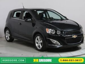 2013 Chevrolet Sonic RS CUIR GR ELECT MAGS BLUETOOTH