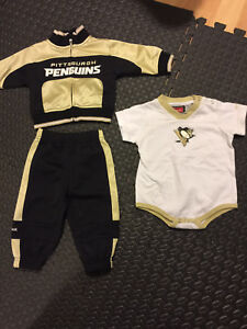Pittsburgh Penguins outfit (3-6 months)