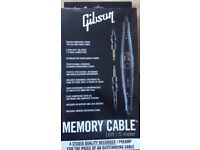 Gibson Memory Guitar Cable. Unused. Boxed