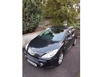 NEW PRICE LOW MILES, Peugeot 307 S HDI 1.6 DISEL,5dr,Full svc record,New mot. only 49000mls.SUPERB !