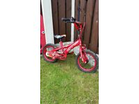 "Boys 14 "" bike like new can deliver for a small charge"