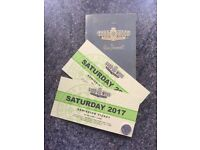 GOODWOOD REVIVAL SATURDAY TICKETS X 2