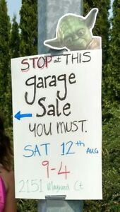 Garage Sale - August 12th
