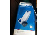 New in box caravan waste container