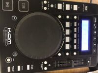 KAM CDj can be linked to any other type of mixing deck (mine was a Numark)