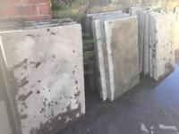 50mm 3x2 Drive, Path, Patio, Shed Base Concrete Flags, slabs. (CLEAN)