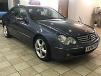 !!READY TO GO!! 2004 MERCEDES CLK 200K / MOT MAY 2018 / SERVICE HISTORY / ELEGANCE MODEL / LEATHER