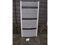 Bathroom/Towel radiator - white - 1300 x 600