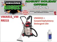 SEALEY VMA915 CAR VALET MACHINE WET/DRY + 1L DETERGENT CARPET CLEANER