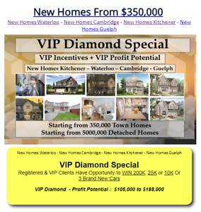 Town Homes, Semis, and Detached Homes From $350,000