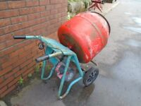 cement mixer 240 volts